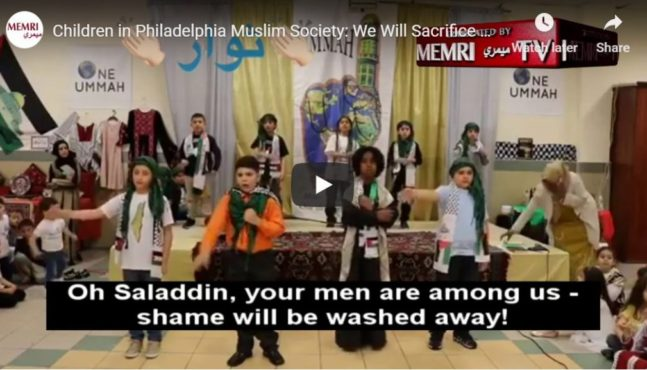Shocking video surfaces of Philadelphia children at Muslim school singing terrorist songs