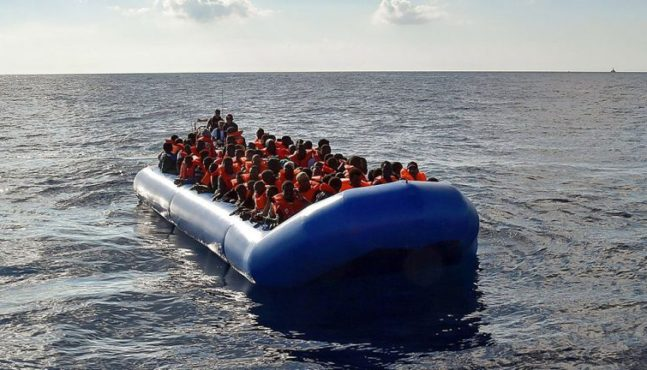 NGOs helping illegal immigration into Italy?